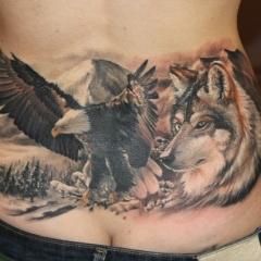 Татуировка на копчике