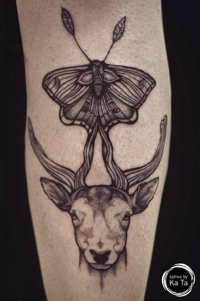 картинки тату бабочка