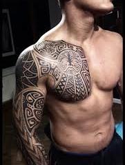 Малазийский стиль тату