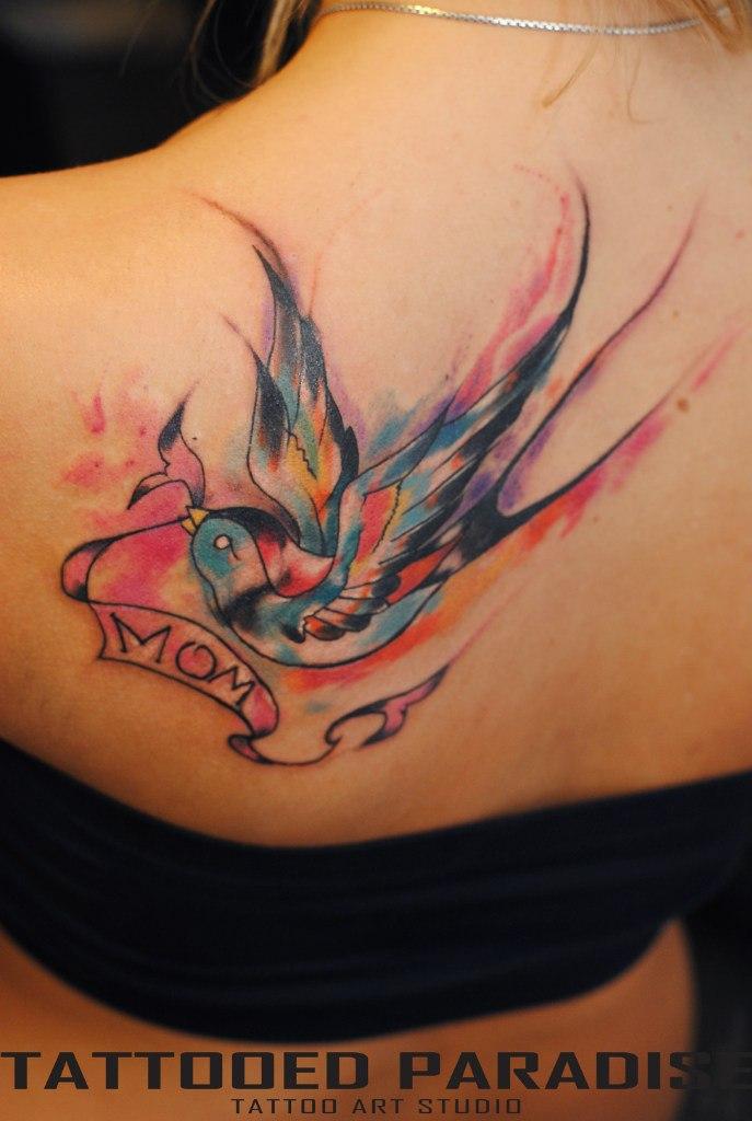 Значение тату слон - tattooha.com
