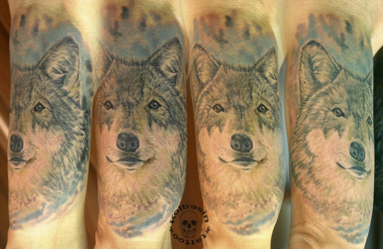 Татуировка волк значение и фото