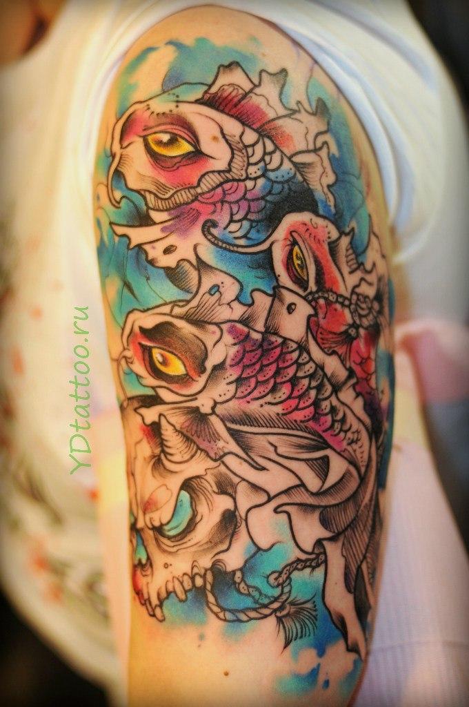 Для чего татуировка дракона 200