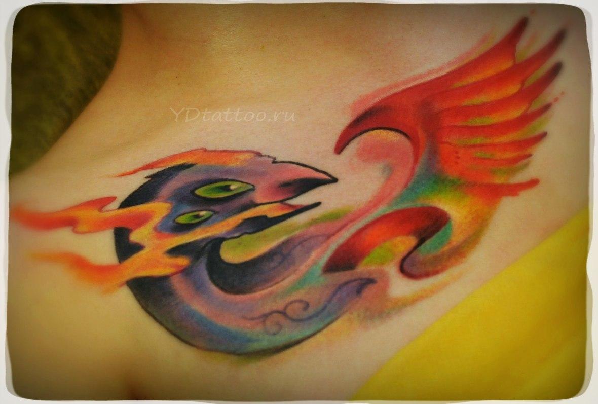 Фото татуировок на ключице