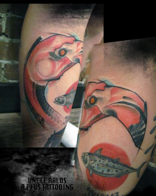 Татуировка третий глаз - значение, эскизы тату и фото 7
