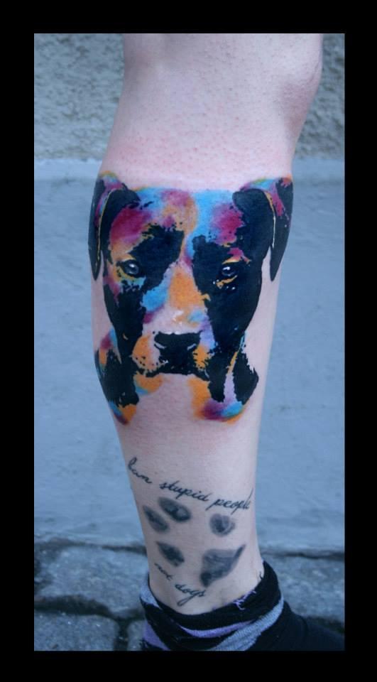 Татуировка пса 78