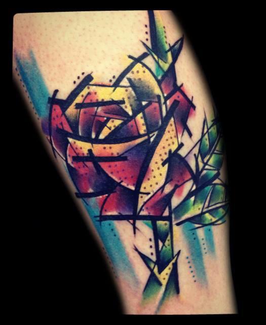 Фото татуировок роза