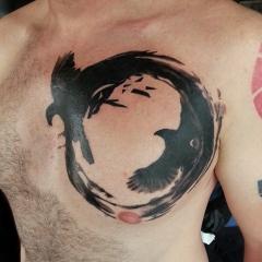 Фото татуировок ворон