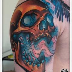 Фото татуировок череп