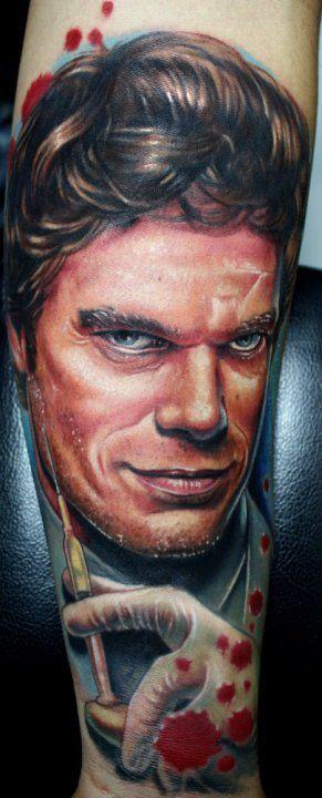 Фото татуировок в стиле портрет