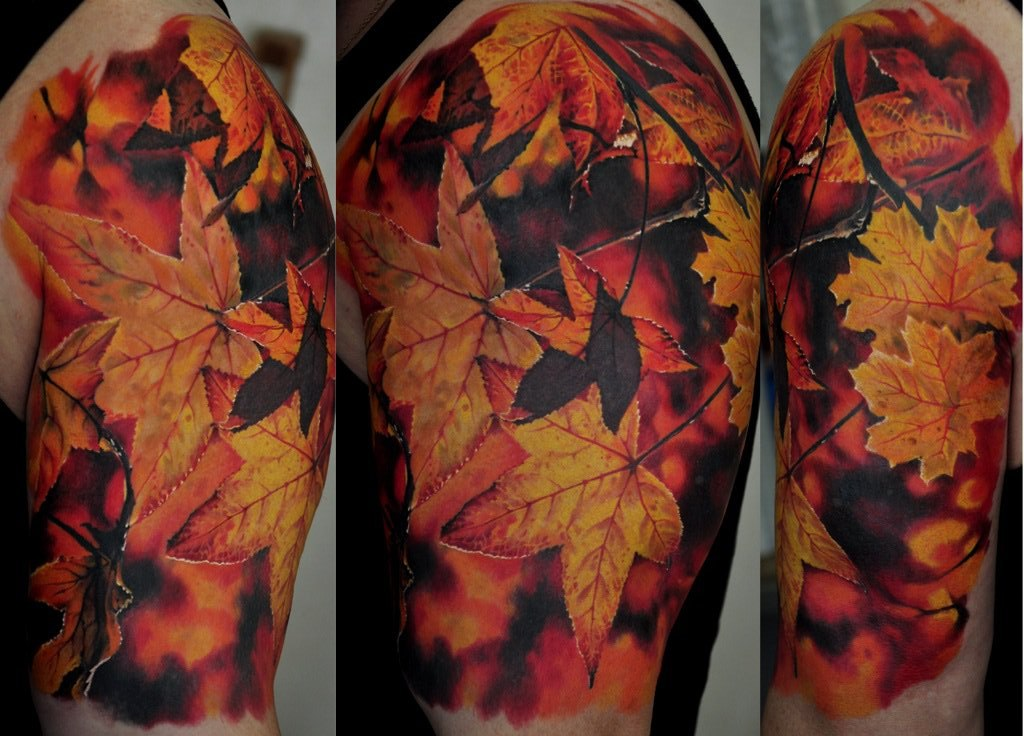 The name autumn tattoo