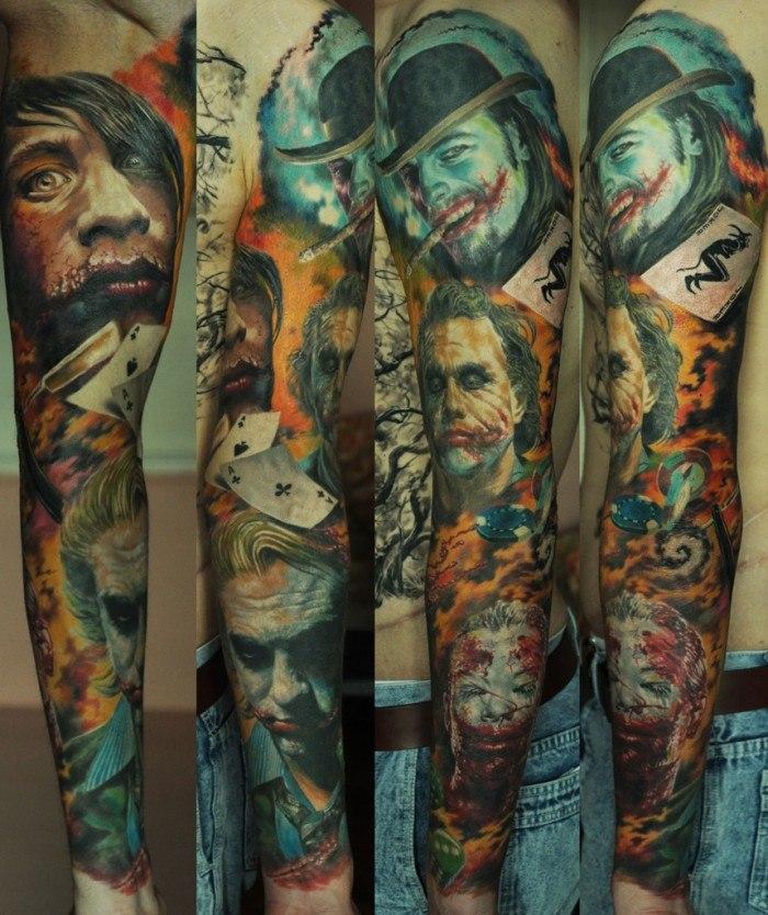 Фото татуировок в стиле биомеханика от лучших тату