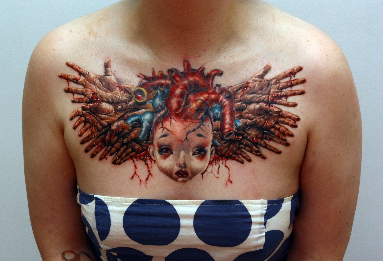 Как сделать татуировку для кукол 177