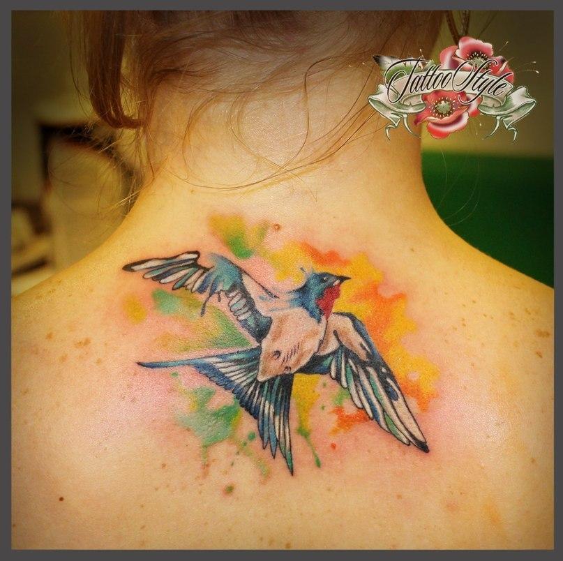 Значения тату крылья птицы