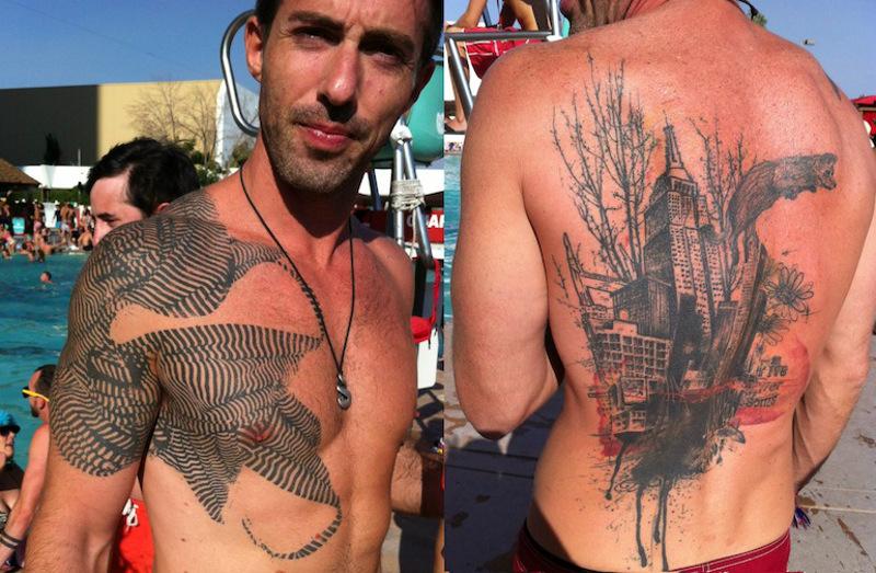 Татуировки Зака