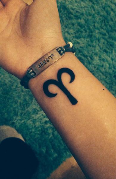 Татуировки в виде знаков зодиака