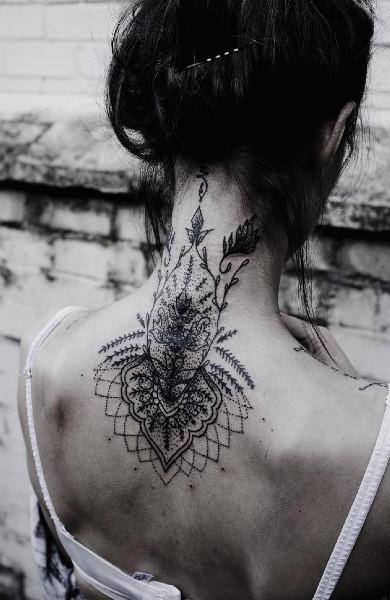 Татуировка в стиле барокко