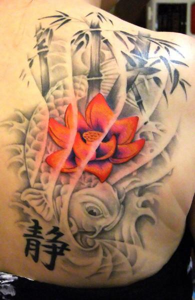 Татуировка бамбук