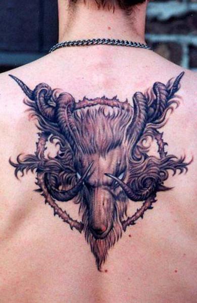 Татуировка козерог