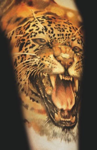 Татуировка гепард