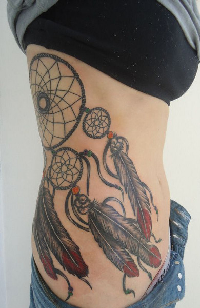 эскиз татуировки ловец снов