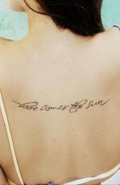 Фразы на английском для татуировки
