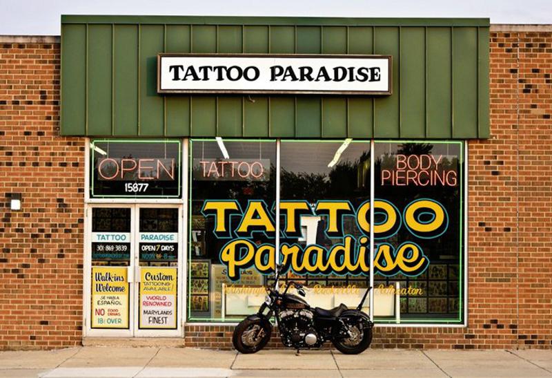 Название салонов тату в америке