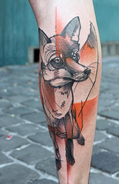 эксиз татуировка лиса