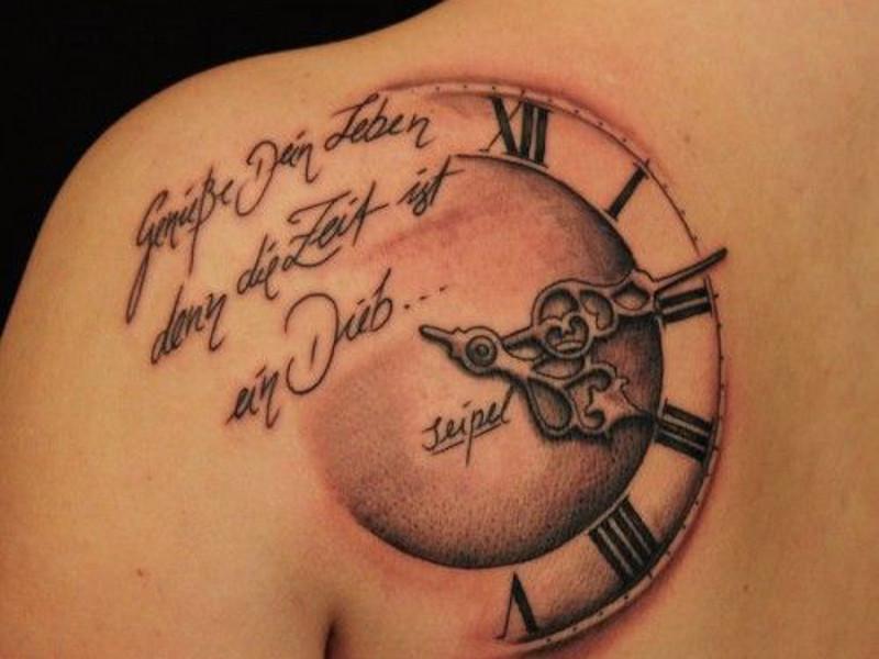 Фразы на немецком для татуировки
