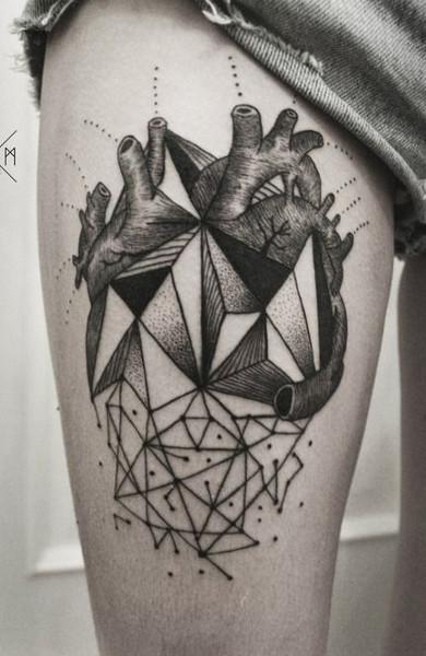 фото татуировка сердце
