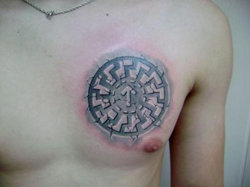 Татуировка коловрат и ее значение