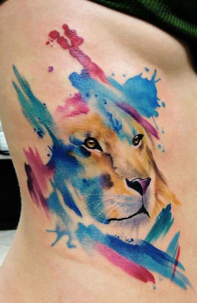 татуировки со знаком зодиака на спине