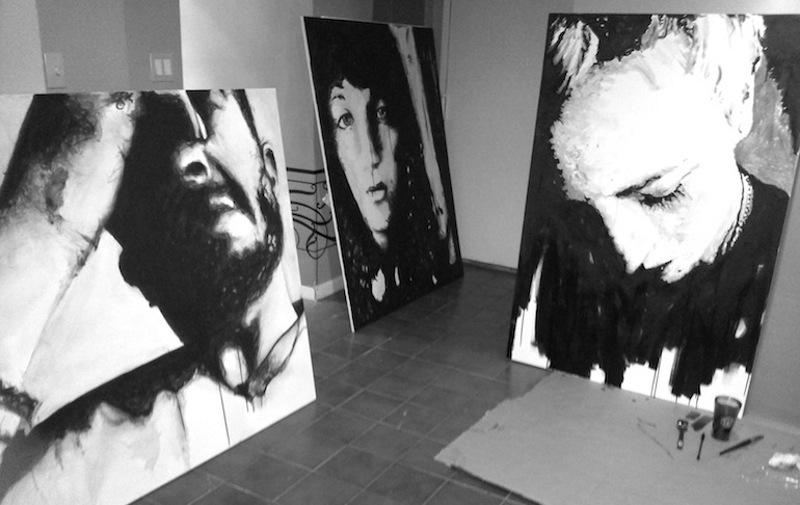 Большие портретные работы