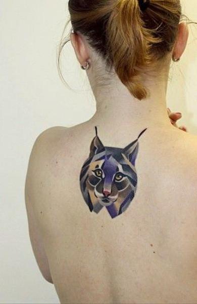 Татуировка рысь