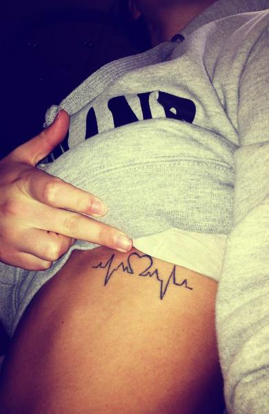 Татуировка пульс