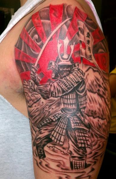 Татуировка самурай
