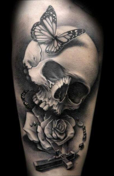 tattoo of the skull