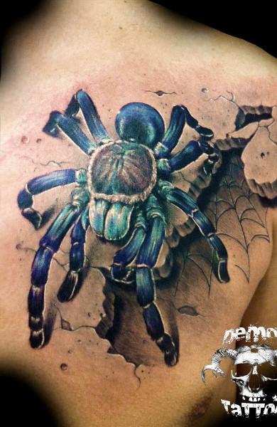 фото татуироки паук
