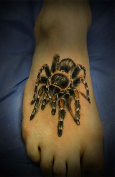 Татуировка паук