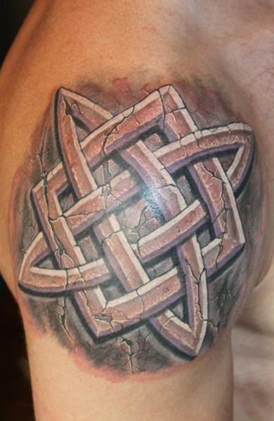 Татуировка Квадрат Сварога