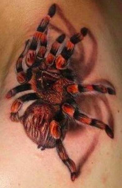 Татуировка тарантул