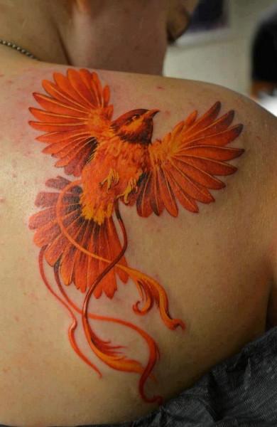 Татуировка жар-птица