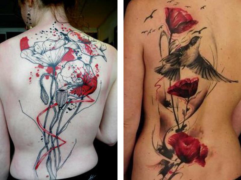 Как нарисовать татуировки  BookTips
