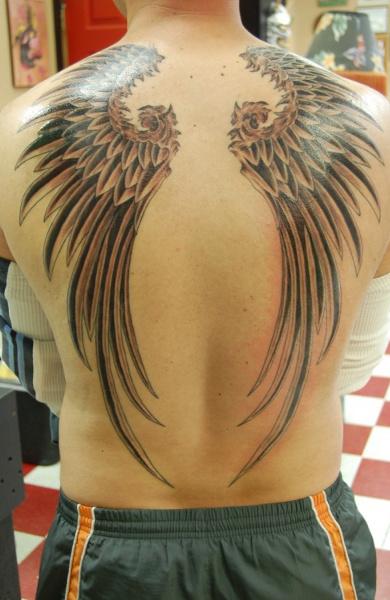 фото татуировка крылья