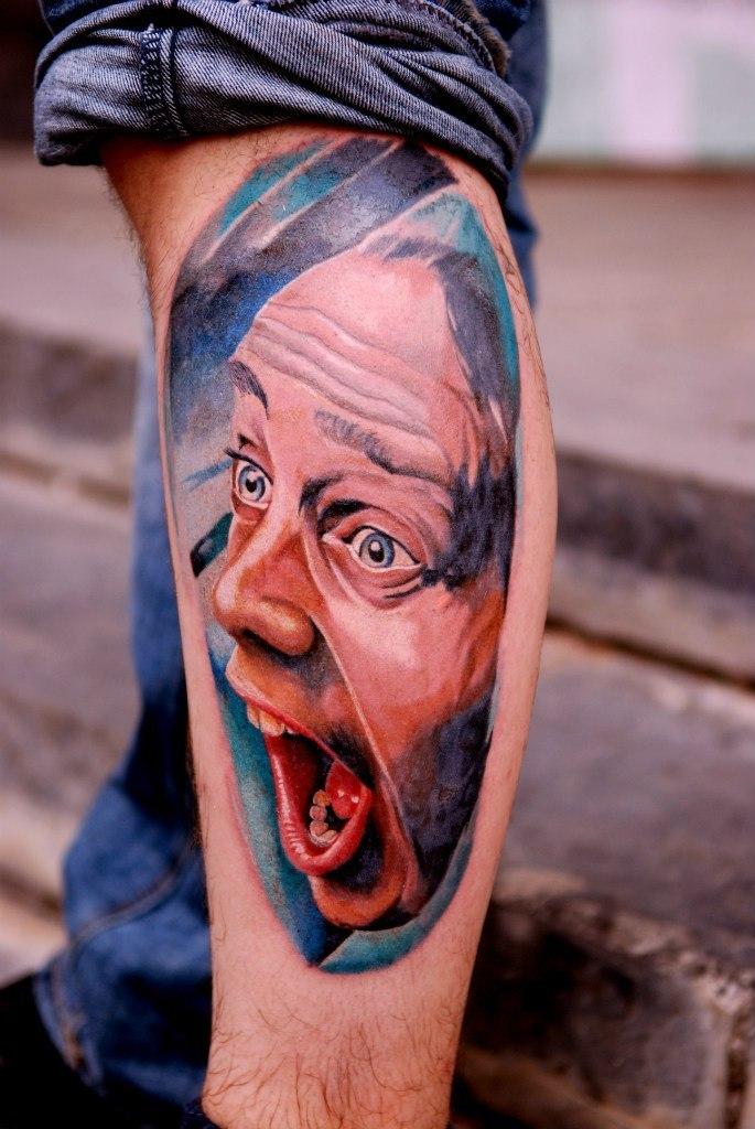 Фото татуировок реализм