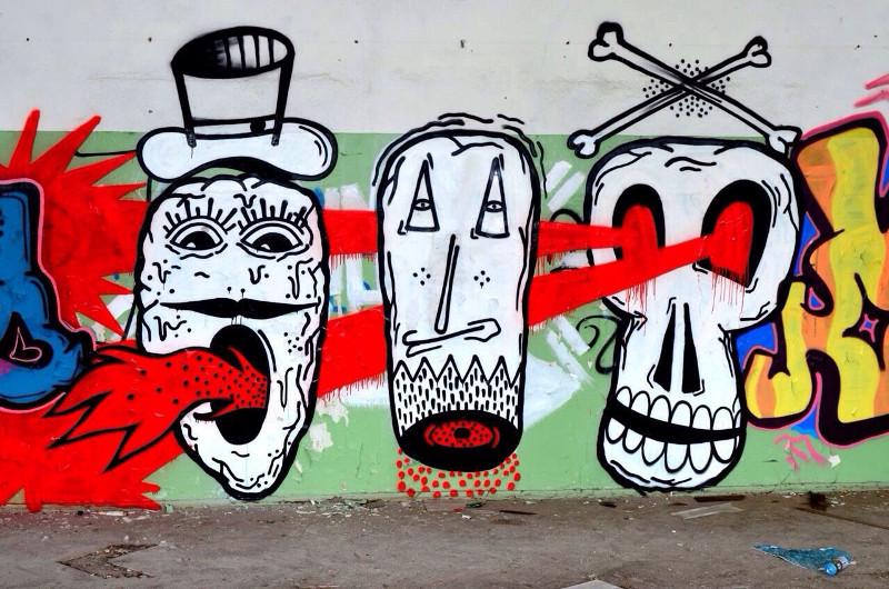 Граффити Андрея Коена