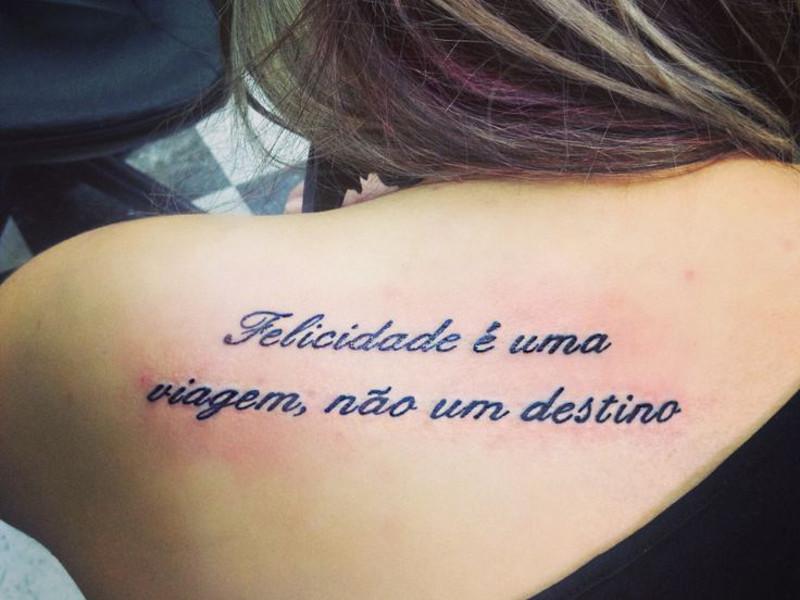Фразы на португальском для татуировки
