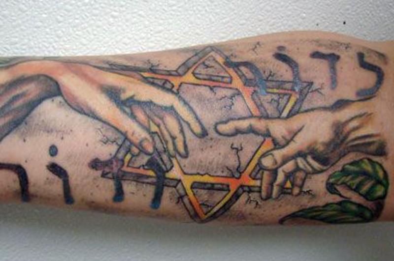 Татуировка Звезда Давида