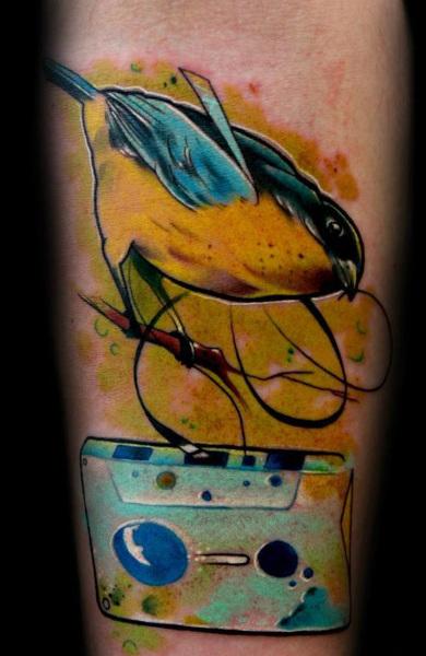 Татуировка кассета