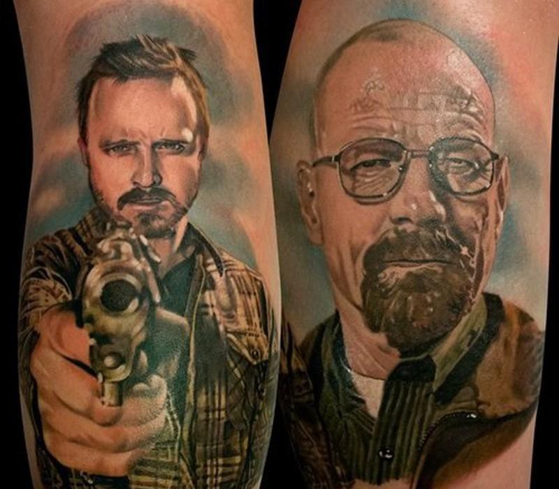 Татуировки по сериалу