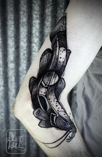 Татуировка сом